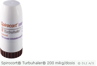 Spirocort® Turbuhaler® 200 mikg/dosis