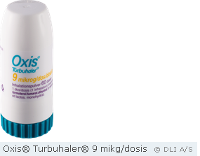 Oxis® Turbuhaler® 9 mikg/dosis