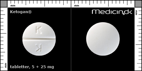 tabletter 5 + 25 mg