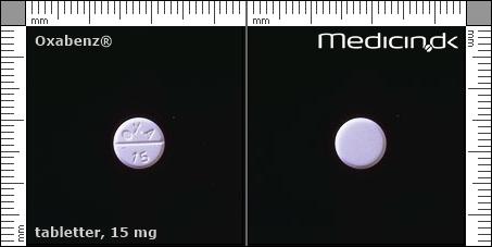 oxabenz 15 mg