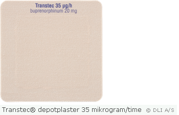 Transtec® depotplaster 35 mikrogram/time