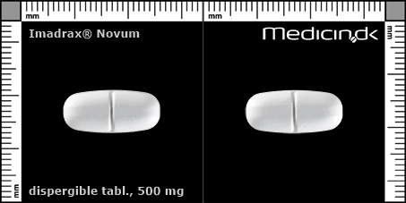 dispergible tabletter 500 mg (delekærv for nemmere indtagelse)