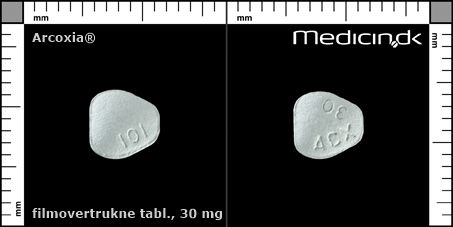 filmovertrukne tabletter 30 mg