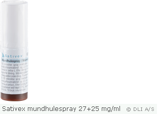 Sativex mundhulespray 27+25 mg/ml