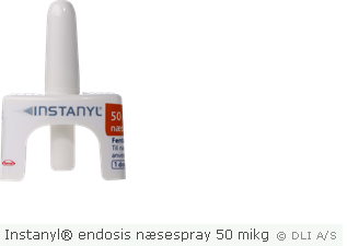 Instanyl® endosis næsespray 50 mikg