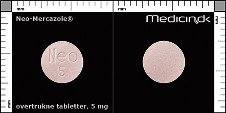 neo mercazole bivirkninger