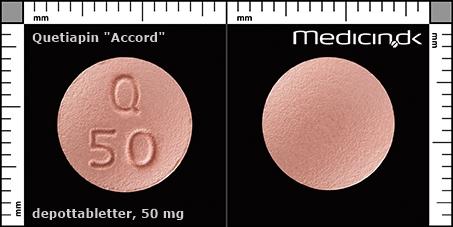 Ketipinor 50 mg
