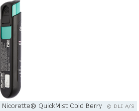 Nicorette® QuickMist Cold Berry