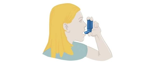 symptomer på astma
